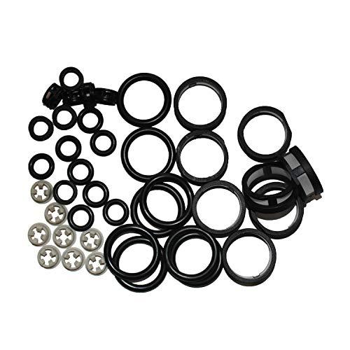 8x Fuel Injector Repair Seal Kit For INFINITI Q45 ()