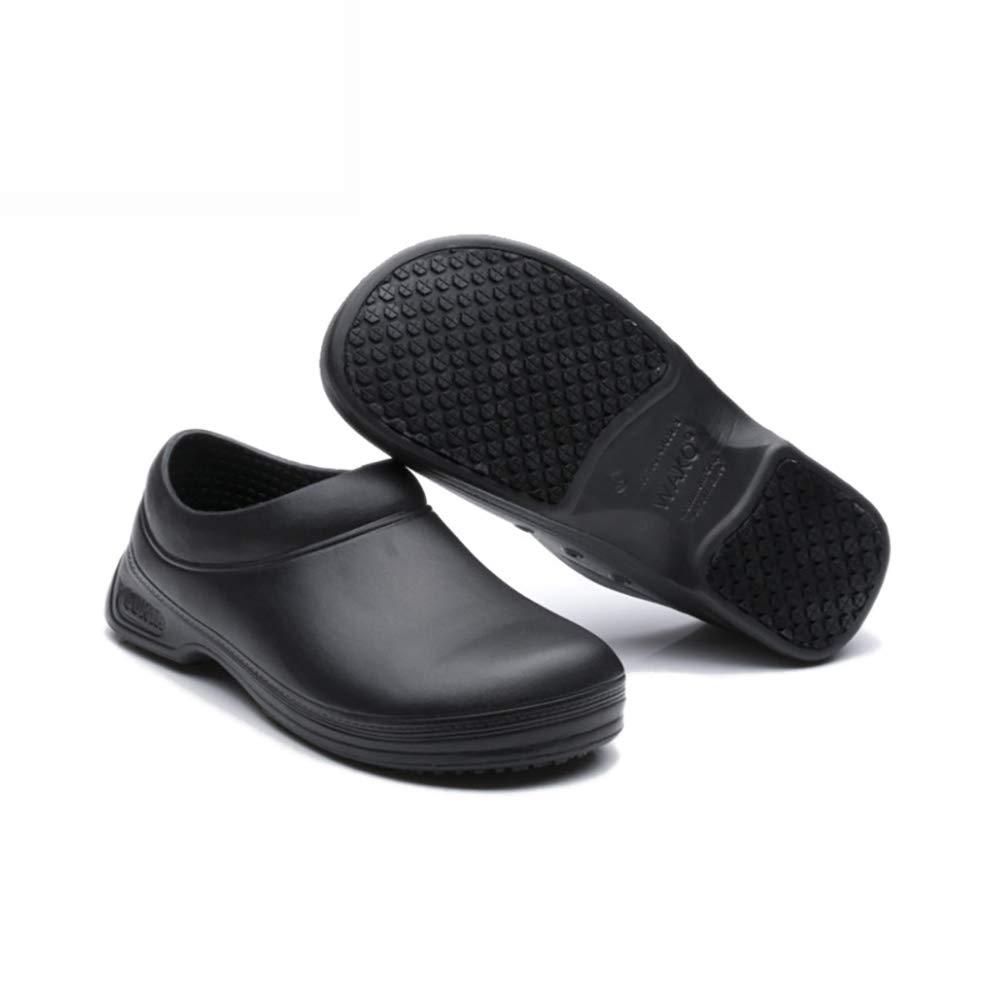 WAKO Mens Kitchen Chef Shoes Nonslip