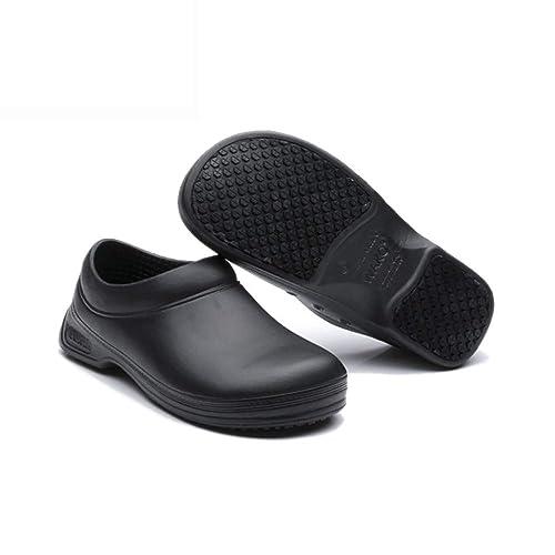 Unisex Rubber Kitchen Shoes Oil Resistant Anti Slip Waterproof Non