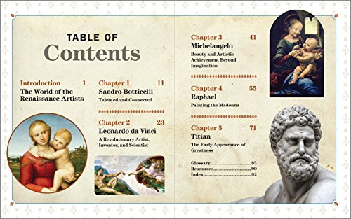 The Renaissance Artists: With History Projects for Kids (The Renaissance for Kids) by Nomad Press (Image #4)