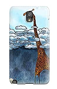 Fashion Tpu Case For Galaxy Note 3- Balloons Playing But Raining Defender Case Cover by icecream design