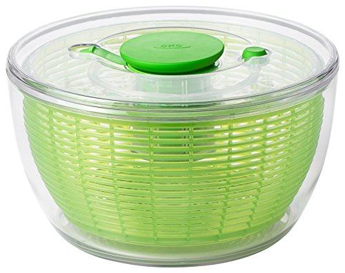 (OXO Good Grips Salad Spinner 4.0Green, Plastic, Green, 58.42x 29.84x 35.56cm )