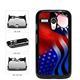 Taiwan And USA Mixed Flag Plastic Phone