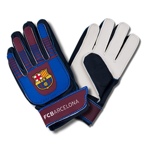 F C Barcelona Goalkeeper Gloves Kids Official Merchandise Amazon