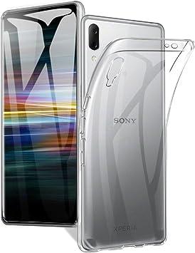 A-VIDET Funda Sony Xperia L3, Cubierta Blanda de Silicona Súper ...