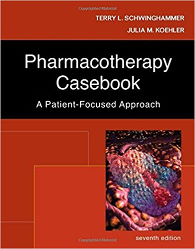 Book pharmacotherapy case