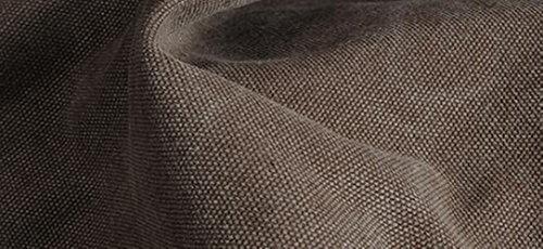 MeiliYH Retro Bolsa de Mensajero de la Lona con Cuero Maletín de Negocios de los Hombres marrón oscuro