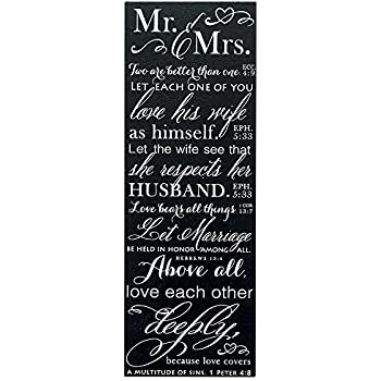 Amazon Com Dexsa Marriage Prayer Wood Frame Plaque With
