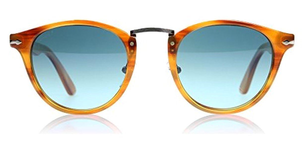 be6678138f3f5 Amazon.com  Persol Men s PO3108S Sunglasses Havana   Blue 49mm   Cleaning  Kit Bundle  Clothing