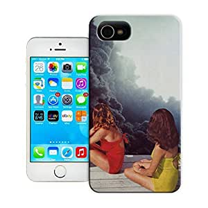 Unique Phone Case The girl creative collage art SUNBATHING Hard Cover for 4.7 inches iPhone 6 cases-buythecase