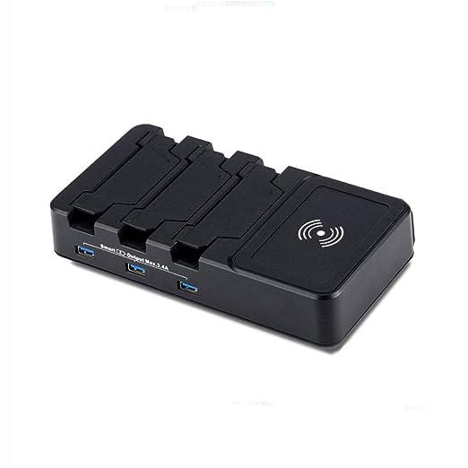 ASDFGH Multi USB Cargador, Cargador con Cables 5V 40W 8 Puertos ...