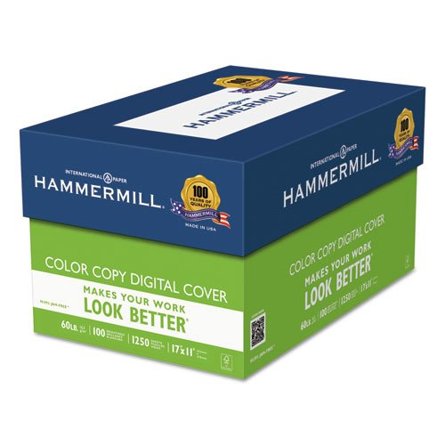 Hammermill - Copier Digital Cover Stock, 60 lbs., 17 x 11, White, 250 Sheets 12255-6 (DMi PK Photo #5