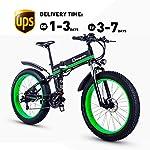 51caRnZfveL. SS150 Shengmilo Bici elettriche 26 Pollici, Bici elettrica piegante di Montagna, Bici elettrica della Batteria 1000W 48V13ah E…