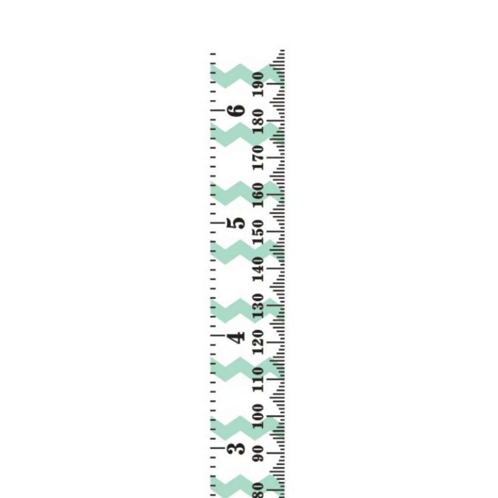 Wingbind Kids Height Measure Ruler, Wooden Growth Chart for Boys Girls Room Decor