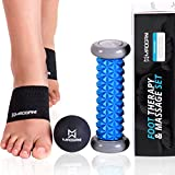 Kick foot pain and muscle aches to the curb   No matter how much you stretch, you can't always avoid achy feet and muscles. The Maogani Foot and Muscle Recovery Set lets you target those aches and pains with the same intensity of a massage therapist...