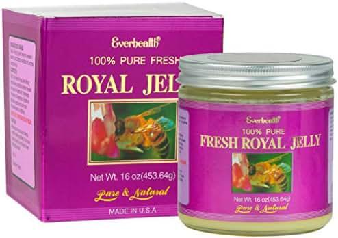Everhealth Natural Vitamin Co. Fresh Liquid Royal Jelly 16 oz Pure and Natural