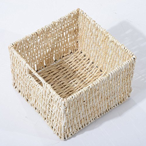 HomCom 40'' 3-Drawer 3-Basket Storage Bench - Antique Black by HOMCOM (Image #9)