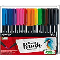 Pincel Brush, Newpen, 16 Peças