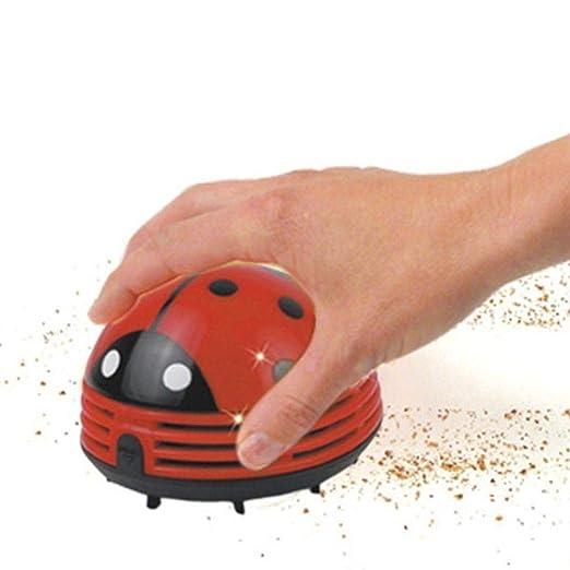 Ogquaton Lindo Mini Escarabajos Esquina Mesa de Escritorio Polvo ...