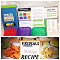 Fire Deals 7 Piece Portion Control Containers Kit For Weight Loss Eat Healthy and Balanced, Free HOLIDAYS RECIPES E-Book +Planner Guide Multi-Colored System.Comparable to 21 Day Fix
