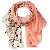 Calvin Klein Women's Ombre Over Animal Scarf, Blossom, One Size