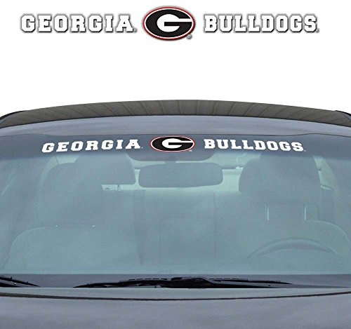 picture of NCAA Georgia Windshield Decal, One Size, One Color