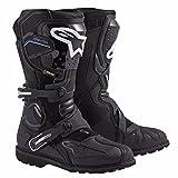 Alpinestars Toucan Gore-TEX Men's Weatherproof Motorcycle Touring Boots (Black, US Size 7)