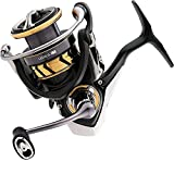 Daiwa Legalis LT Spinning Reel with 5+1 6.2: 1 LGLT2500DXH, Black