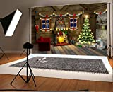 Christmas Photography Backdrop 7×5ft HD Vinyl Photo Background Paper Photo Studio Props (1)