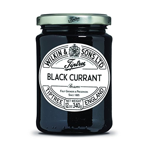 - Tiptree Black Currant Preserve, 12 Ounce Jar