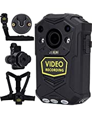 BRIFIELD® BR1 Body Camera - HD 1440p, GPS, 64GB, H.265 | Body Cam for Security Roles & for Any Personal Footage Uses | Comes with Chest Harness, Shoulder Harness, Klickfast Stud Piece & Dock Piece