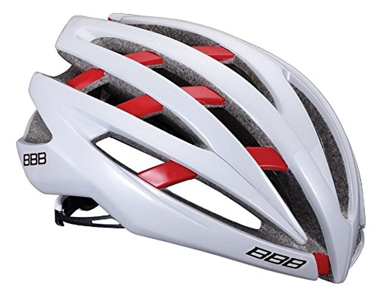 [해외] BBB 헬멧 BBB 물오징어 로스ROSS BHE-05 154775 화이트/레드 L
