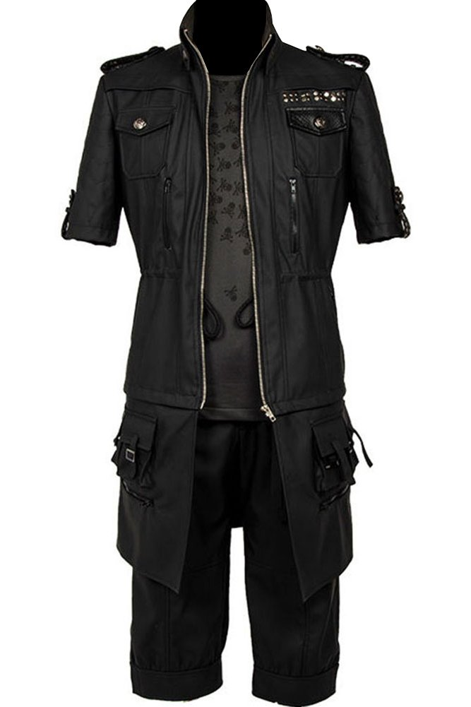 CosplaySky Final Fantasy XV Costume NOCTIS Lucis Caelum Outfit Medium by Cosplaysky
