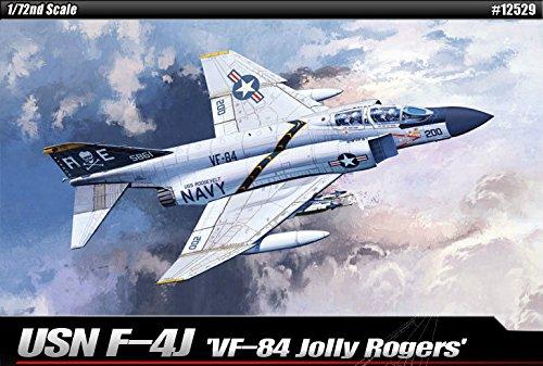 1/72 USN F-4J VF-84 Jolly Rogers #12529 Academy Hobby Kits /ITEM#G839GJ -