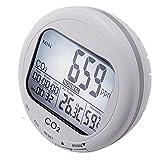 Desktop Carbon Dioxide Monitor Warner Temperature Humidity 9999ppm CO2 Logger 110V
