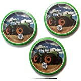 Tractor Time Birthday Party Plates (24)