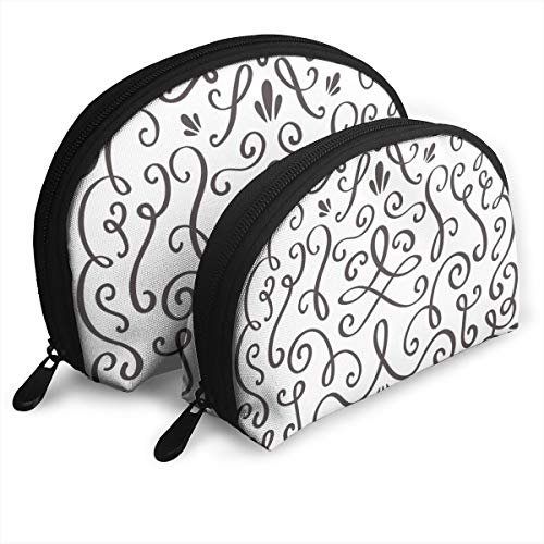 Eratdatd Customized Decoration Whirlpool Whirls Wine Ornaments Shell Portable Zipper Bag?2 Bags?, Suitable for Women Cosmetics, Handbags/Handbags, Women Accessories. -