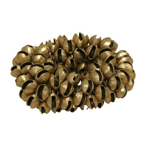 Clam Bells - Clam Bells, Brass, Plain, 100 Count