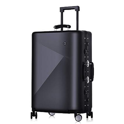 b4bf5953a50b Amazon.com: MZTYX Us Retro Aluminum Frame Luggage, Personalized ...