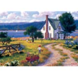 Buffalo Games Shorelines, Apples for Sale - 500pc Jigsaw Puzzle