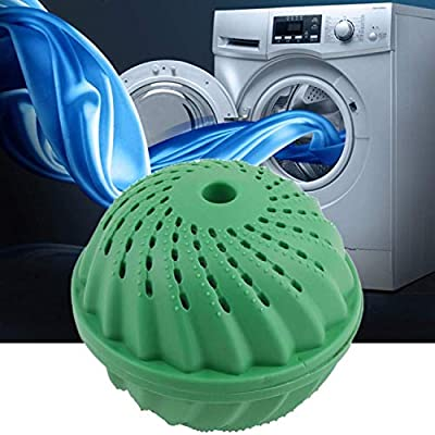 THECADIO 1pcs Washing Ball Laundry Ball Eco Laundry Ball Magnetic Anion Molecules Cleaning Cleaner Magic Washing