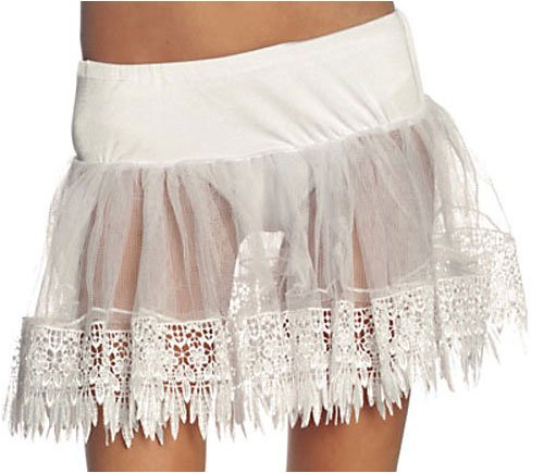 Teardrop Petticoat Costume Accessory - One Size Plus - Dress Size 16-20