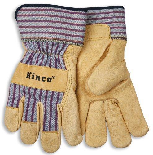Pigskin Grain (Kinco Unlined Grain Pigskin Leather Glove for Work & Palomino by KINCO INTERNATIONAL)