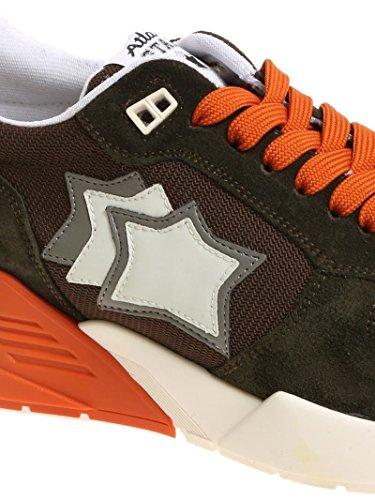 Atlantic Stars Sneakers Uomo MARSMFSN08 Camoscio Verde