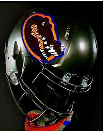 Florida Gators Swamp Green Riddell Speed Mini Football Helmet - New in Riddell Box