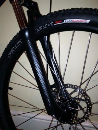 Ellis Graphix - Protector de horquilla hecho de fibra de carbono, para para Bicicleta MTB y BMX: Amazon.es: Deportes y aire libre