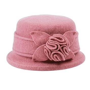 Elegante lana boina sombrero gorra Boina Sombreros Niñas Invierno para Mujer  Fashion 89c98b7992d