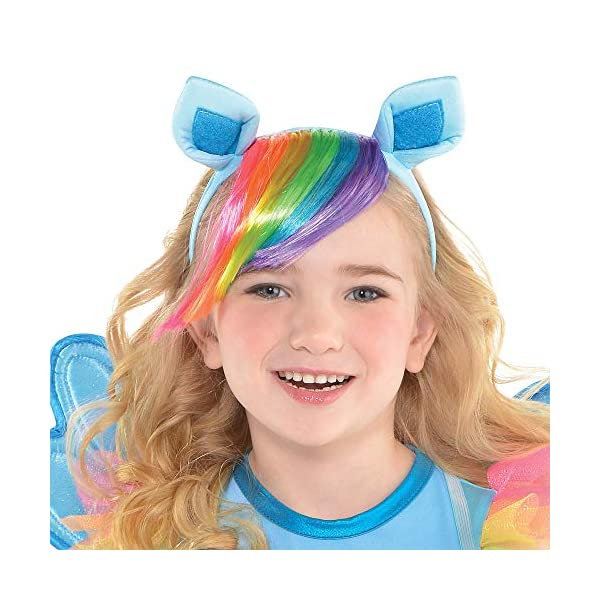 Suit Yourself Rainbow Dash Halloween Costume, My Little Pony, Small, Includes Dress, Headband, Wings, and Tail 4