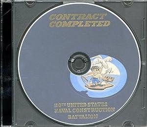 Seabees 110th Battalion World War II Memory Book NCB 110