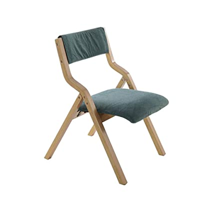 Folding Dining Chairs Padded.Qyyczdy Wooden Folding Dining Chair With Padded Backrest